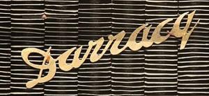 darracq grill emblem